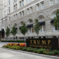Trump International Hotel along Pennsylvania Avenue